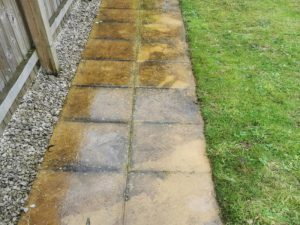 Patios & paving before