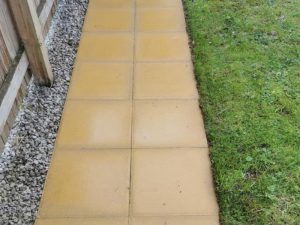Patios & paving after